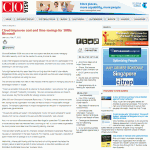 CIO Asia News Article with Bobby Jimenez