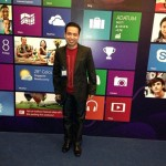 Bobby at the Singapore Windows 8 Launch